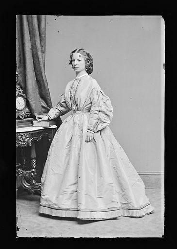 Margaret Julia Mitchell. Sitter: Maggie Mitchell, 14 Jun 1837 – 22 Mar 1918. Date: 1860s. Record ID: npg_NPG.81.M1157.