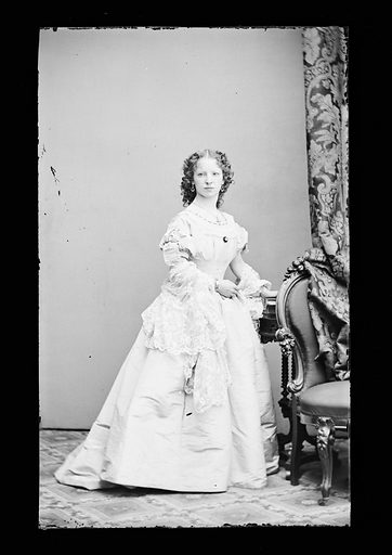 Margaret Julia Mitchell. Sitter: Maggie Mitchell, 14 Jun 1837 – 22 Mar 1918. Date: 1860s. Record ID: npg_NPG.81.M1162.