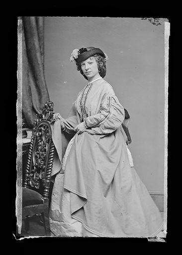 Margaret Julia Mitchell. Sitter: Maggie Mitchell, 14 Jun 1837 – 22 Mar 1918. Date: 1860s. Record ID: npg_NPG.81.M1165.