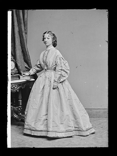 Margaret Julia Mitchell. Sitter: Maggie Mitchell, 14 Jun 1837 – 22 Mar 1918. Date: 1860s. Record ID: npg_NPG.81.M1166.