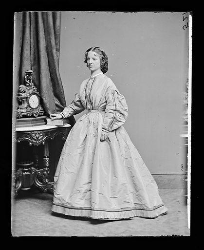 Margaret Julia Mitchell. Sitter: Maggie Mitchell, 14 Jun 1837 – 22 Mar 1918. Date: 1860s. Record ID: npg_NPG.81.M1168.