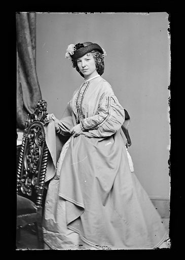 Margaret Julia Mitchell. Sitter: Maggie Mitchell, 14 Jun 1837 – 22 Mar 1918. Date: 1860s. Record ID: npg_NPG.81.M1169.