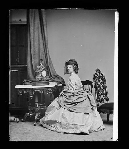 Margaret Julia Mitchell. Sitter: Maggie Mitchell, 14 Jun 1837 – 22 Mar 1918. Date: 1860s. Record ID: npg_NPG.81.M240.
