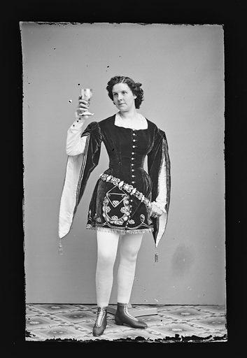 Kate Morenski. Sitter: Kate Morenski. Date: 1860s. Record ID: npg_NPG.81.M1185.