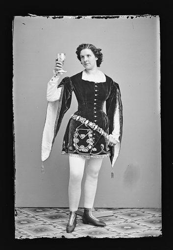 Kate Morenski. Sitter: Kate Morenski. Date: 1860s. Record ID: npg_NPG.81.M1188.