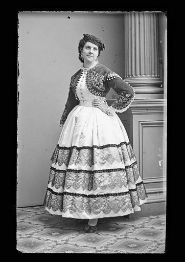 Kate Morenski. Sitter: Kate Morenski. Date: 1860s. Record ID: npg_NPG.81.M1192.