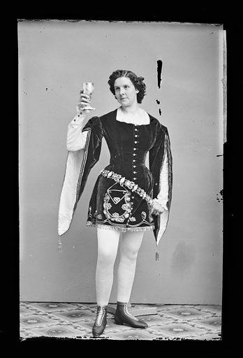 Kate Morenski. Sitter: Kate Morenski. Date: 1860s. Record ID: npg_NPG.81.M1193.