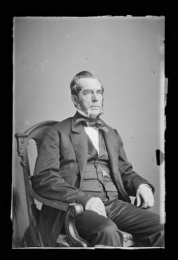 Edwin D. Morgan. Sitter: Edwin Denison Morgan, 8 Feb 1811 – 14 Feb 1883. Date: 1860s. Record ID: npg_NPG.81.M1196.