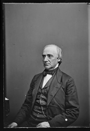 Lot M. Morrill. Sitter: Lot Myrick Morrill, 3 May 1812 – 10 Jan 1883. Date: 1860s. Record ID: npg_NPG.81.M1204.1.