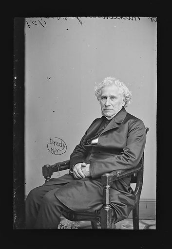 William A. Muhlenberg. Sitter: William Augustus Muhlenberg, 1796 – 1877. Date: 1860s. Record ID: npg_NPG.81.M1221.
