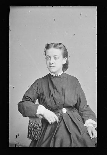 Louisa Myers. Sitter: Louisa Myers. Date: 1860s. Record ID: npg_NPG.81.M1225.