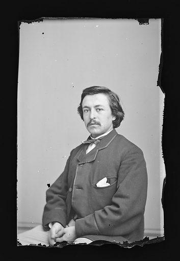 Thomas Nast. Sitter: Thomas Nast, 27 Sep 1840 – 7 Dec 1902. Date: 1860s. Record ID: npg_NPG.81.M1233.