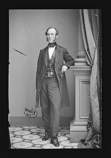 William W. Newell. Sitter: William Wells Newell, 1839 – 1907. Date: 1860s. Record ID: npg_NPG.81.M1239.
