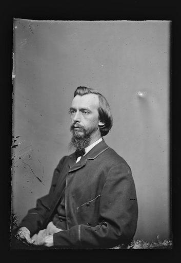 John G. Nicolay. Sitter: John George Nicolay, 1832 – 1901. Date: 1860s. Record ID: npg_NPG.81.M1244.