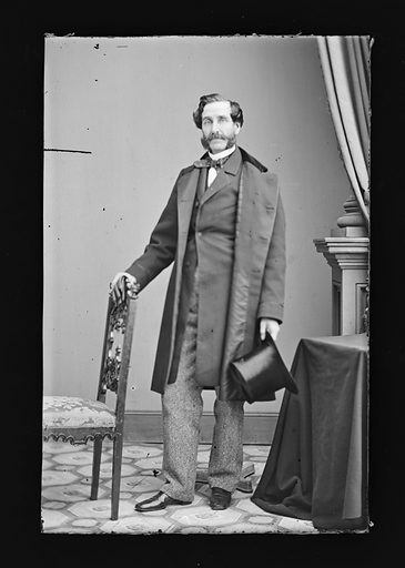 George Opdyke. Sitter: George Opdyke, 1805 – 1880. Date: 1860s. Record ID: npg_NPG.81.M1266.