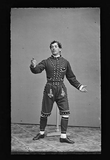 Charles T. Parsloe, Jr. Sitter: Charles T. Parsloe, Jr., active mid 19th Century. Date: 1860s. Record ID: npg_NPG.81.M1282.