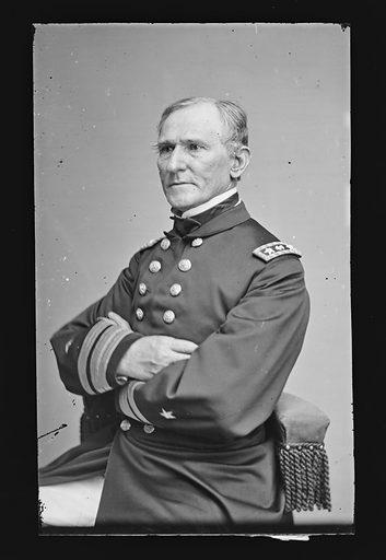 Hiram Paulding. Sitter: Hiram Paulding, 1797 – 1878. Date: 1860s. Record ID: npg_NPG.81.M1288.