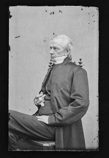 Horatio Potter. Sitter: Horatio Potter, 1802 – 1887. Date: 1860s. Record ID: npg_NPG.81.M1312.