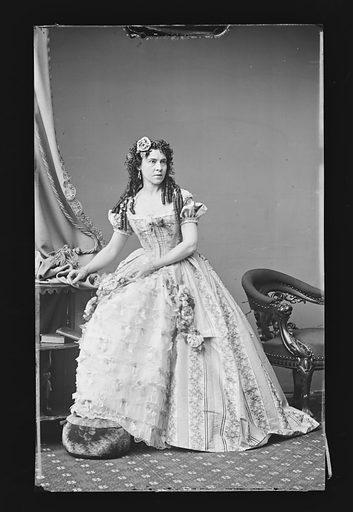 Mrs. J. J. Prior. Sitter: Mrs. J. J. Prior. Date: 1860s. Record ID: npg_NPG.81.M1325.