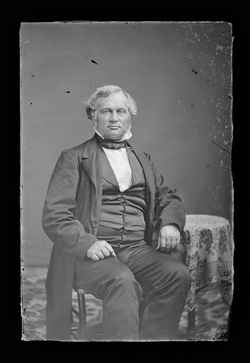 Alexander Ramsey. Sitter: Alexander Ramsey, 8 Sep 1815 – 22 Apr 1903. Date: 1860s. Record ID: npg_NPG.81.M1329.