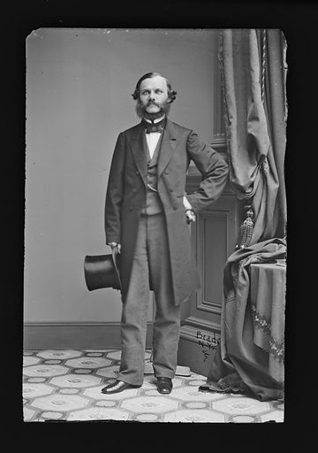 Henry J. Raymond. Sitter: Henry Jarvis Raymond, 24 Jan 1820 – 18 Jun 1869. Date: 1860s. Record ID: npg_NPG.81.M1334.
