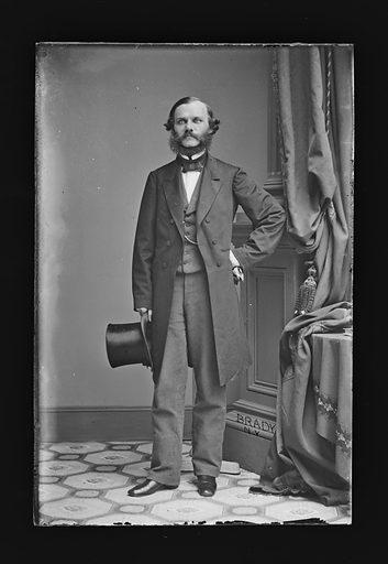 Henry J. Raymond. Sitter: Henry Jarvis Raymond, 24 Jan 1820 – 18 Jun 1869. Date: 1860s. Record ID: npg_NPG.81.M1337.