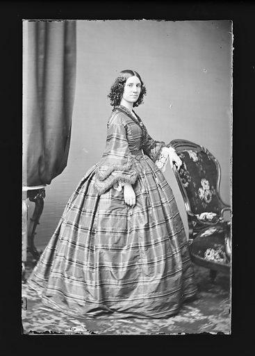 Caroline Richings. Sitter: Caroline Mary Richings, 1827 – 14 Jan 1884. Date: 1860s. Record ID: npg_NPG.81.M262.