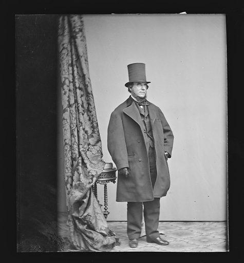Marshall O. Roberts. Sitter: Marshall Owen Roberts, 1814 – 1880. Date: 1860s. Record ID: npg_NPG.81.M1365.