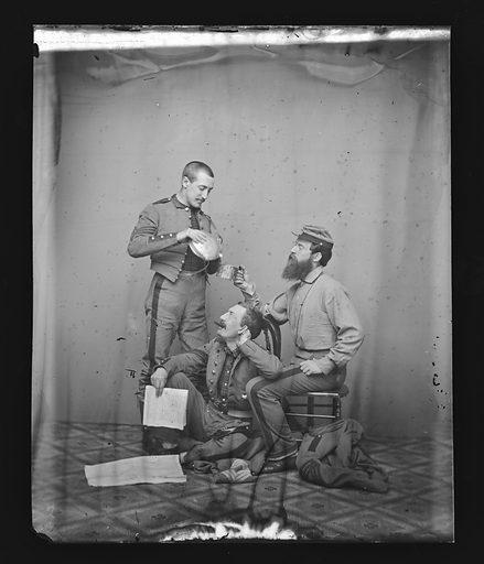 Ryder Group/New York 7th Regiment. Date: 1860s. Record ID: npg_NPG.81.M1375.