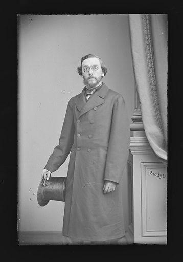 Henry Shelton Sanford. Sitter: Henry Shelton Sanford, 1823 – 1891. Date: 1860s. Record ID: npg_NPG.81.M1379.
