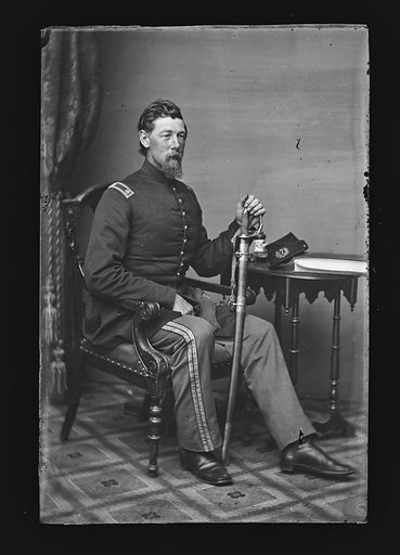 Alexander Shaler. Sitter: Alexander Shaler, 1827 – 1911. Date: 1860s. Record ID: npg_NPG.81.M1407.