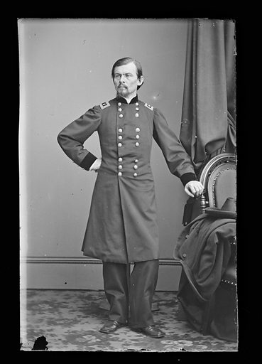 Franz Sigel. Sitter: Franz Sigel, 18 Nov 1824 – 21 Aug 1902. Date: 1880s. Record ID: npg_NPG.81.M1418.
