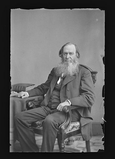 Gerrit Smith. Sitter: Gerrit Smith, 6 Mar 1797 – 28 Dec 1874. Date: 1860s. Record ID: npg_NPG.81.M184.