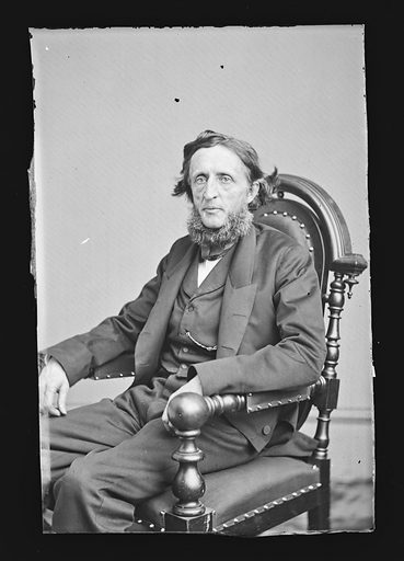 Henry Boynton Smith. Sitter: Henry Boynton Smith, 1815 – 1877. Date: 1860s. Record ID: npg_NPG.81.M1435.