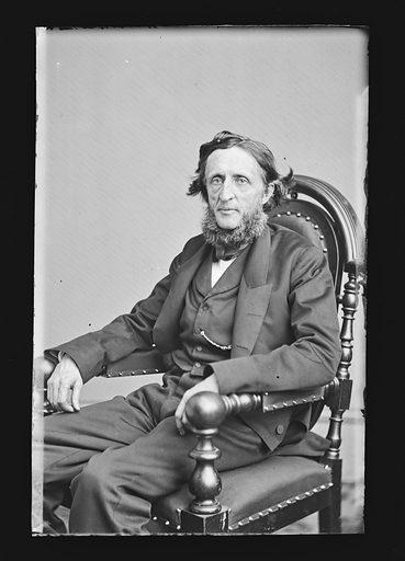 Henry Boynton Smith. Sitter: Henry Boynton Smith, 1815 – 1877. Date: 1860s. Record ID: npg_NPG.81.M1436.