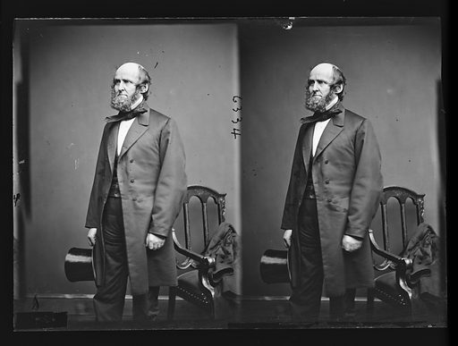 Elbridge G. Spaulding. Sitter: Elbridge Gerry Spaulding, 1809 – 1897. Date: 1860s. Record ID: npg_NPG.81.M1449.2.