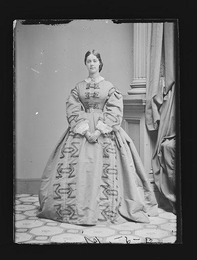 Kate Chase Sprague. Sitter: Kate Chase Sprague, 1840 – 1899. Date: 1860s. Record ID: npg_NPG.81.M1454.