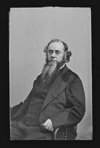 Edwin McMasters Stanton. Sitter: Edwin McMasters Stanton, 19 Dec 1814 – 24 Dec 1869. Date: 1860s. Record ID: npg_NPG.81.M196.