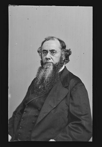 Edwin McMasters Stanton. Sitter: Edwin McMasters Stanton, 19 Dec 1814 – 24 Dec 1869. Date: 1860s. Record ID: npg_NPG.81.M197.