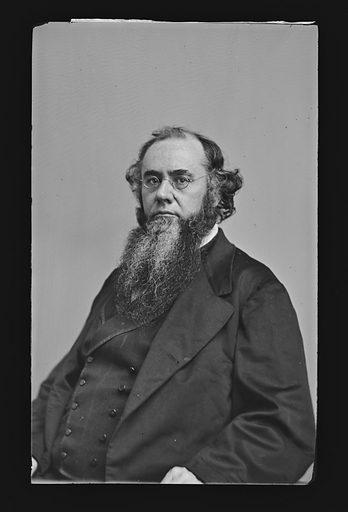 Edwin McMasters Stanton. Sitter: Edwin McMasters Stanton, 19 Dec 1814 – 24 Dec 1869. Date: 1860s. Record ID: npg_NPG.81.M198.