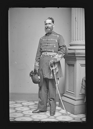 Louis Tenner. Sitter: Louis Tenner. Date: 1860s. Record ID: npg_NPG.81.M1485.