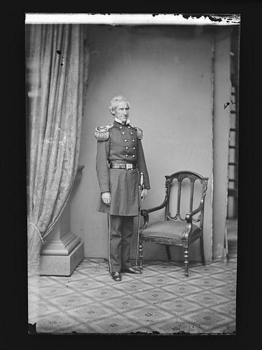Lorenzo Thomas. Sitter: Lorenzo Thomas, 1804 – 1875. Date: 1860s. Record ID: npg_NPG.81.M1489.