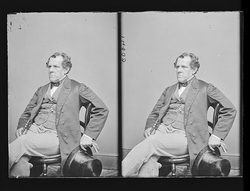 George Thompson. Sitter: George Thompson, 1804 – 1878. Date: 1860s. Record ID: npg_NPG.81.M1494.2.
