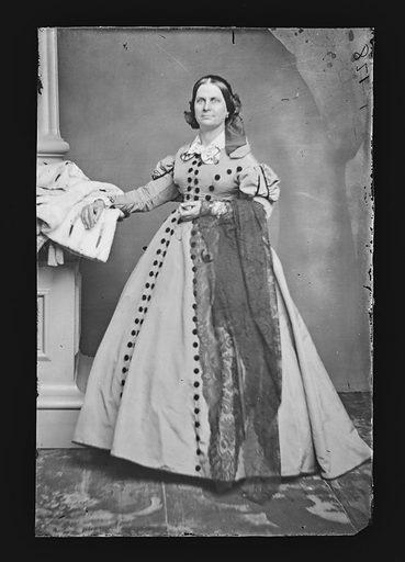 Mrs. John R. Thomson. Sitter: Mrs. John R. Thomson. Date: 1860s. Record ID: npg_NPG.81.M1500.