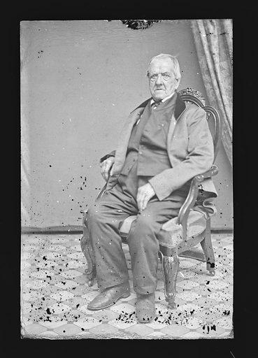 Grant Thorburn. Sitter: Grant Thorburn, 1773 – 1863. Date: 1860s. Record ID: npg_NPG.81.M1502.