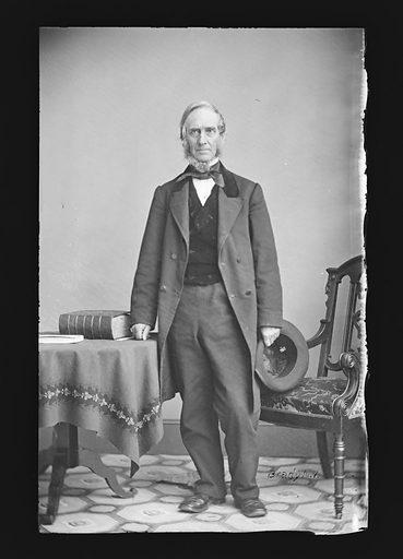 Daniel F. Tiemann. Sitter: Daniel F. Tiemann, 1805 – 1899. Date: 1860s. Record ID: npg_NPG.81.M1509.