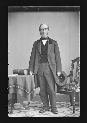Daniel F. Tiemann. Sitter: Daniel F. Tiemann, 1805 – 1899. Date: 1860s. Record ID: npg_NPG.81.M1515.