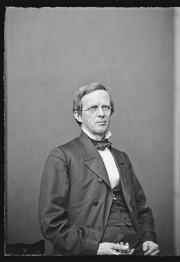 Lyman Trumbull. Sitter: Lyman Trumbull, 12 Oct 1813 – 25 Jun 1896. Date: 1860s. Record ID: npg_NPG.81.M1537.1.