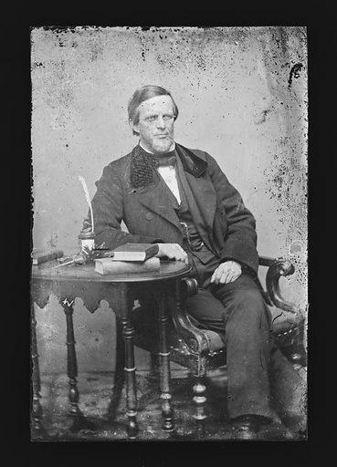 Lyman Trumbull. Sitter: Lyman Trumbull, 12 Oct 1813 – 25 Jun 1896. Date: 1860s. Record ID: npg_NPG.81.M1538.