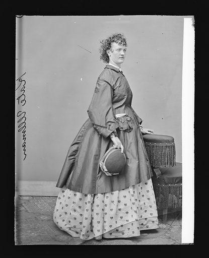 Kate Ullman. Sitter: Kate Ullman. Date: 1860s. Record ID: npg_NPG.81.M1548.